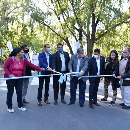 Inauguraron 700 metros más del paseo costero del Limay en Neuquén capital