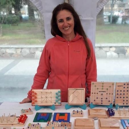 Innovadora y lúdica opción, juegos de mesa e ingenio hechos en madera