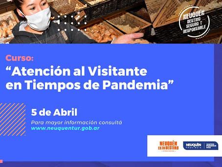 Curso de atención a visitantes en tiempos de Pandemia
