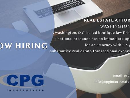 Real Estate Attorney - Washington DC