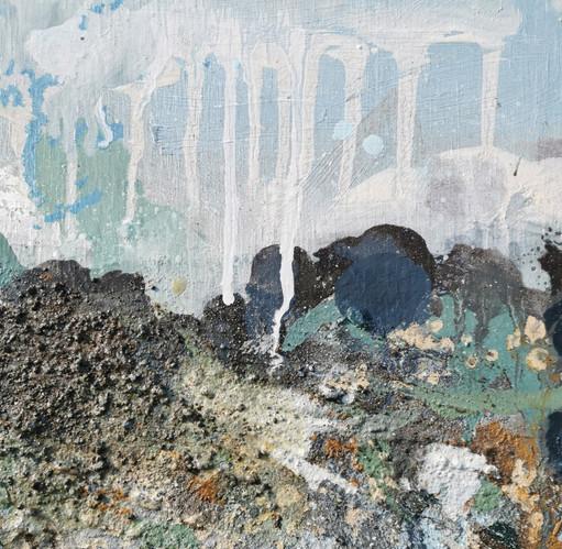 Section of 'I Walked Along the Coast'