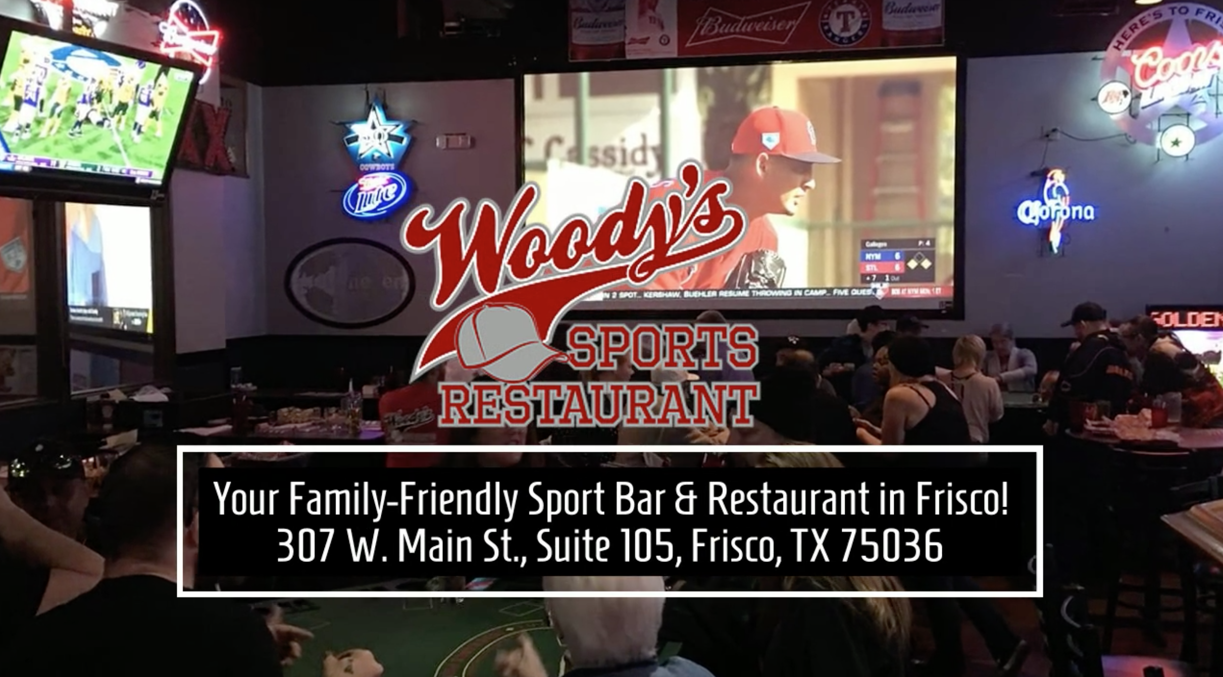Woodys Sports Restaurant Home Page