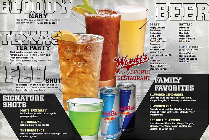 Happy Hour Mixed Drinks