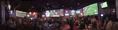 Sports Bar Projection Screens