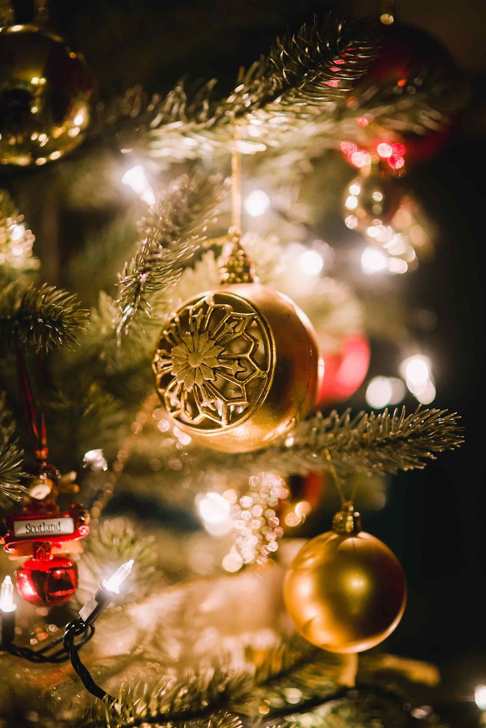 銀食器ブランドのクリスマスオーナメント