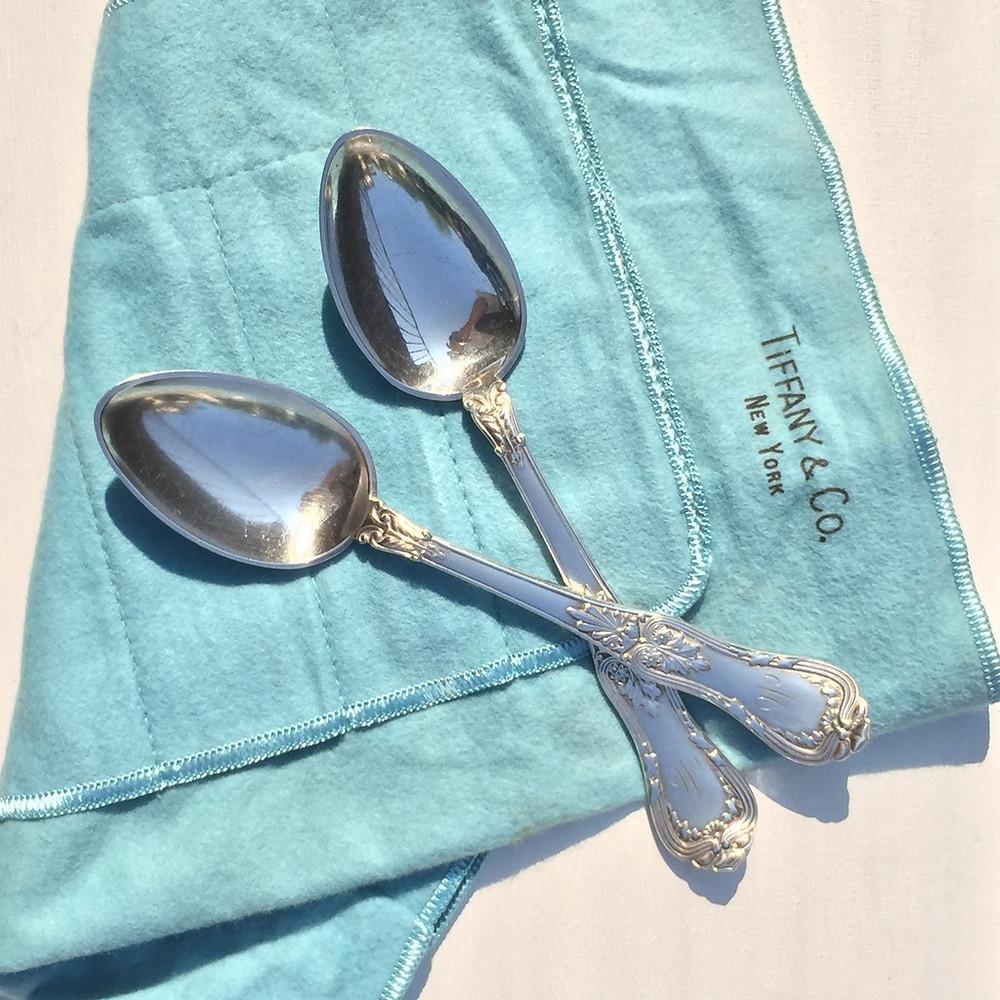 tiffany&coのヴィンテージ銀食器
