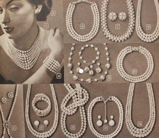 重ね付けされることが多かった真珠