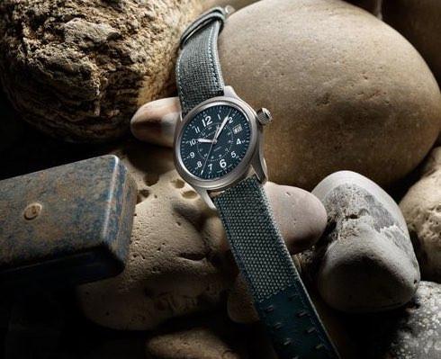 ハミルトン社製のカーキと呼ばれる腕時計。ハミルトンの腕時計の歴史はここから始まった