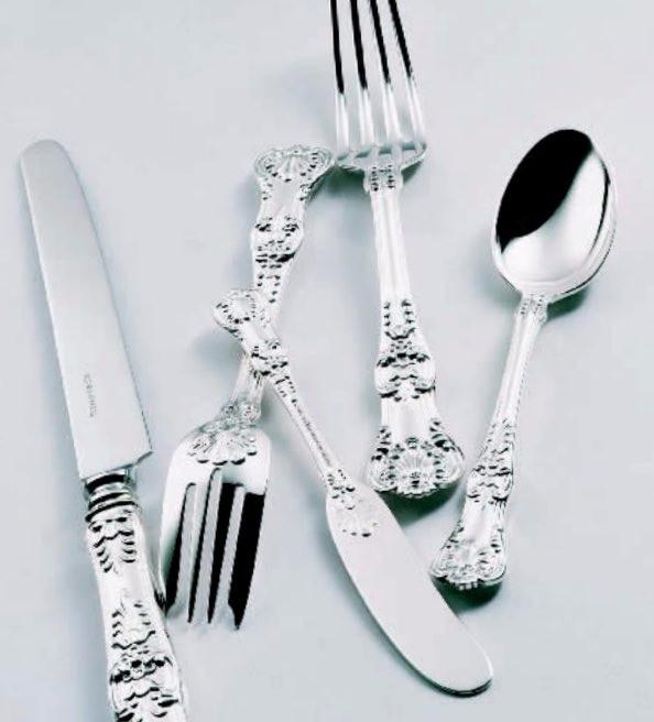 ティファニーのフォーク、ナイフ、スプーン