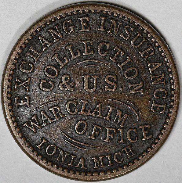 南北戦争コインの味のあるデザイン