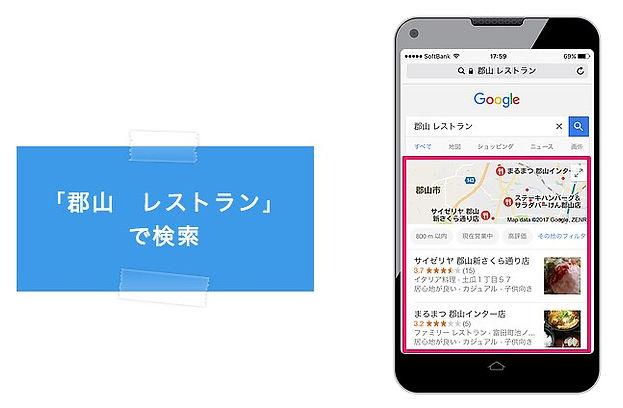 福島のGoogleマイビジネス