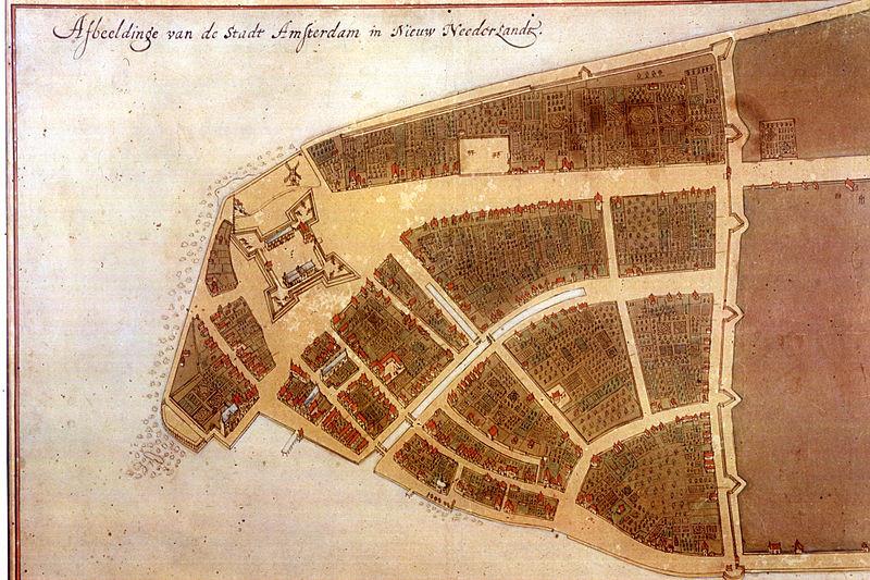 カステッロ計画の地図
