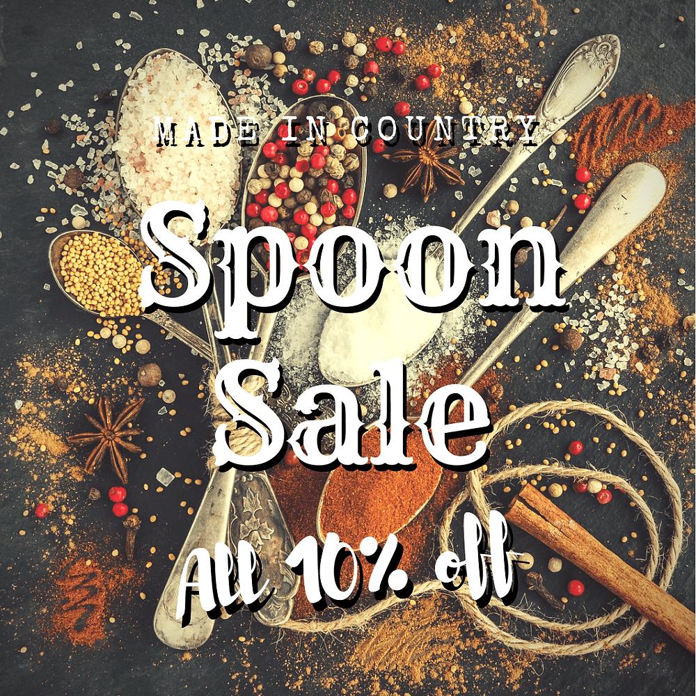 spoon saleの画像