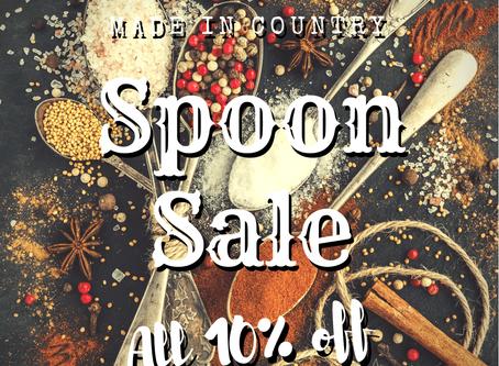 3日間限定 -Spoon sale- 開催