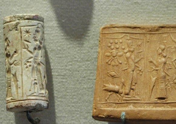 古代エジプトで用いられたスタンプ