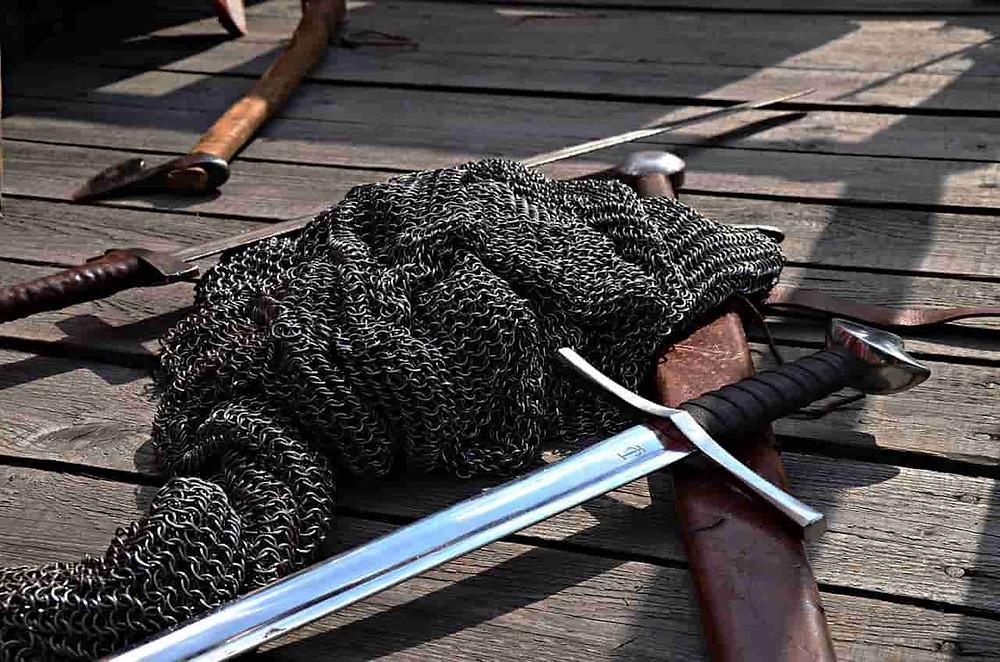 騎士道に欠かせない剣
