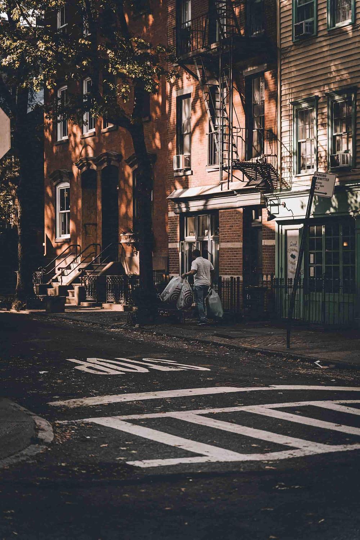 ブルックリンの街角の様子