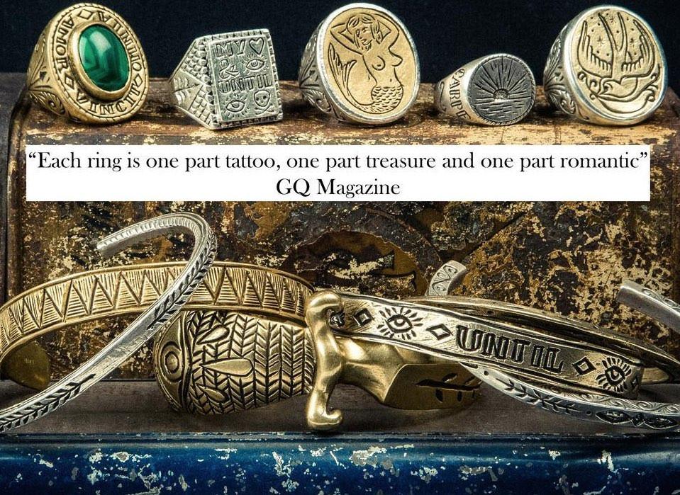 GQマガジンからも賞賛されるLHN Jewelryのデザイン