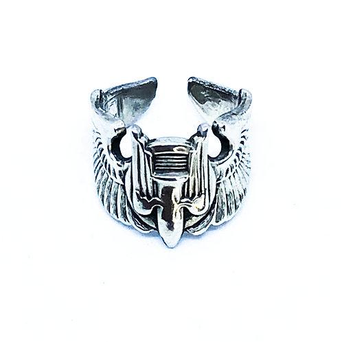 US Air Forceヴィンテージバッジリング-Aerial Gunner-