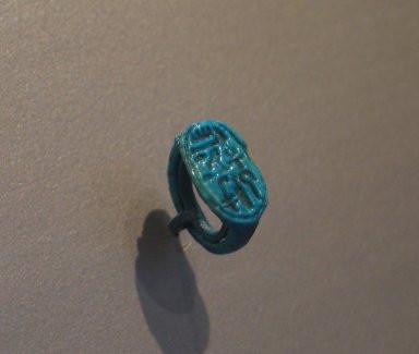 ツタンカーメンの印鑑指輪