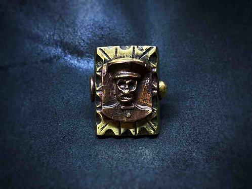 Maxican Ring -Skull Capt.-