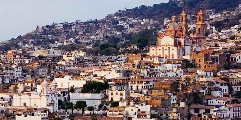 白い街、そして銀の街TAXCO