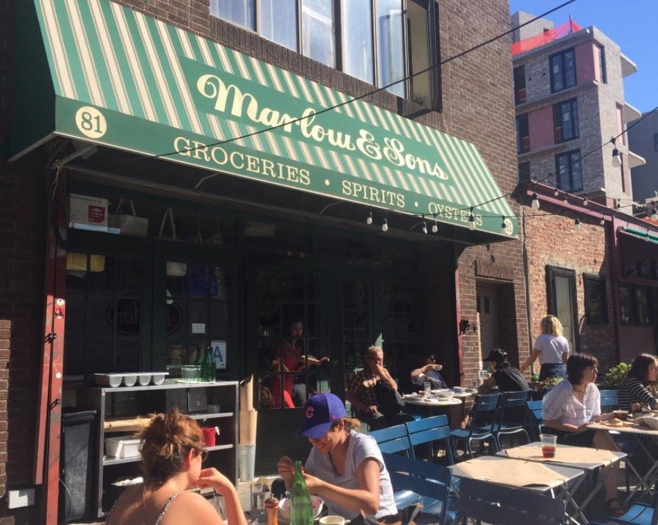 ブルックリン人気の火付け役のお店