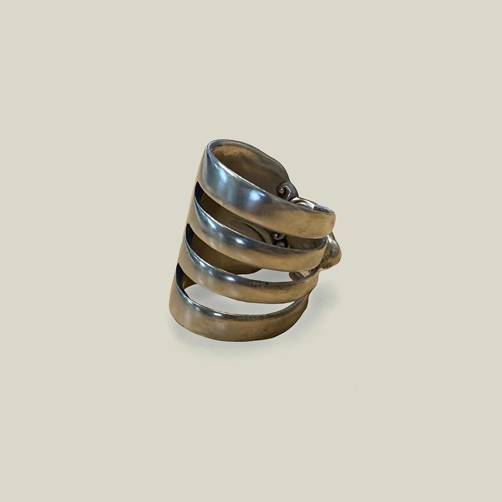 スターリングシルバー(純度92.5%の銀)のワグル