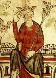 イギリス王、エドワード2世の肖像画