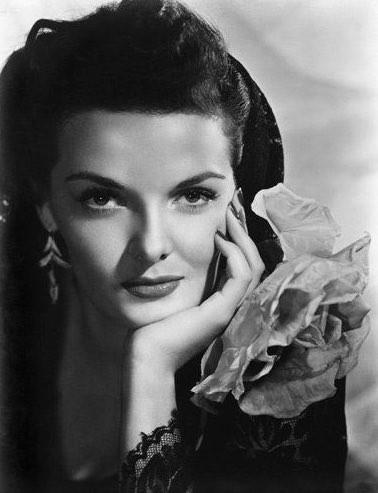 1930年代の大女優jane russell(ジェーンラッセル)