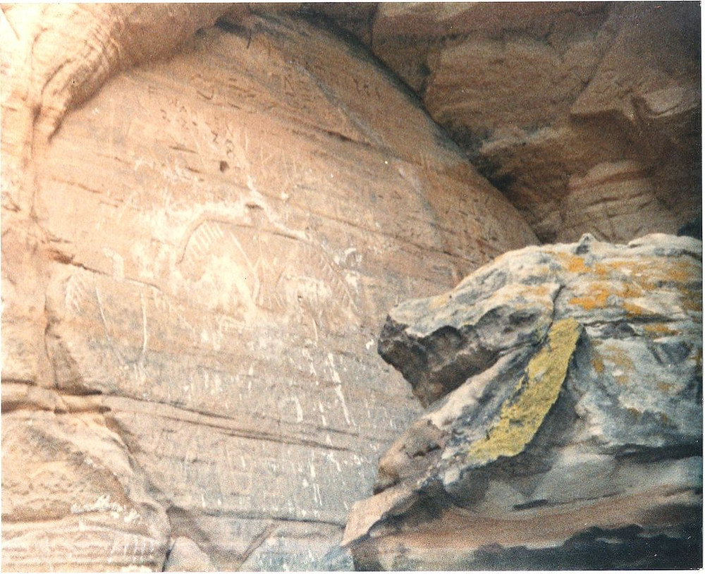 壁に描かれたサンダーバード の壁画