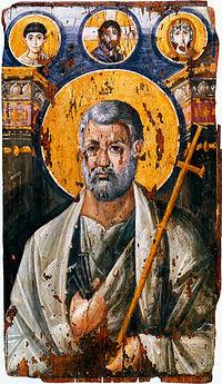 初代ローマ教皇とされる聖ペトロ