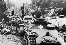 第二次世界大戦時の戦車隊