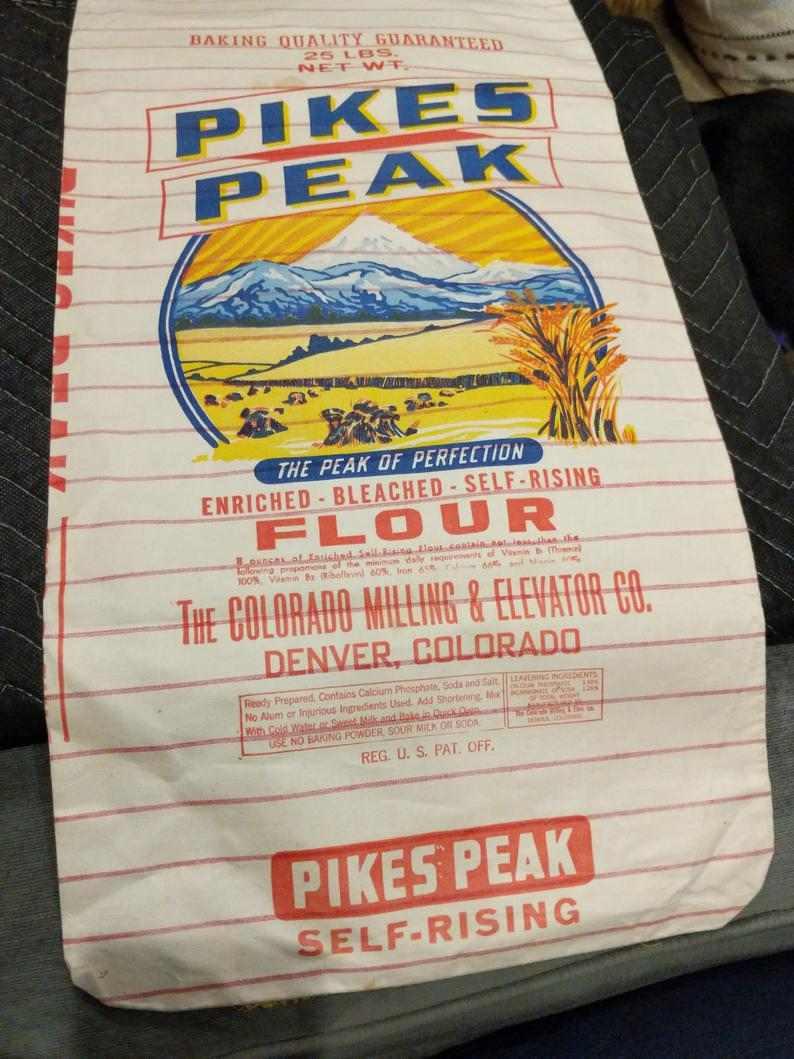 もう一つのヴィンテージ小麦袋