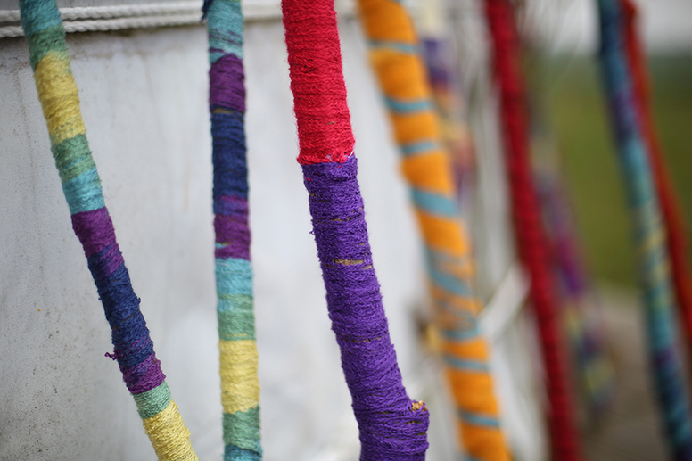 baton de laine