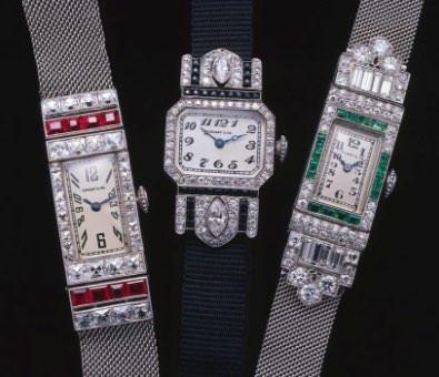 アールデコの腕時計