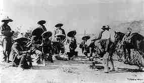 メキシコ革命時の平民たち