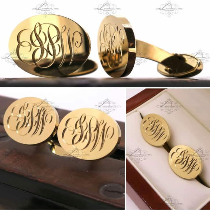 london engraverのシグネットリング