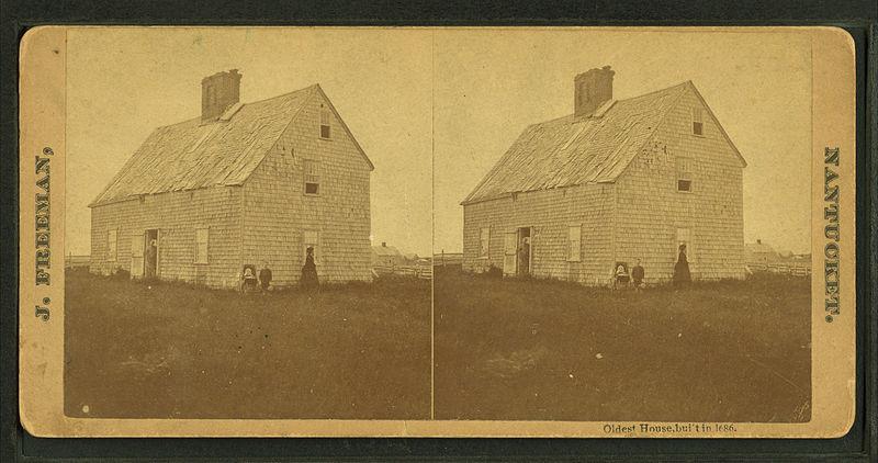 1686年に建てられた古い家の窓