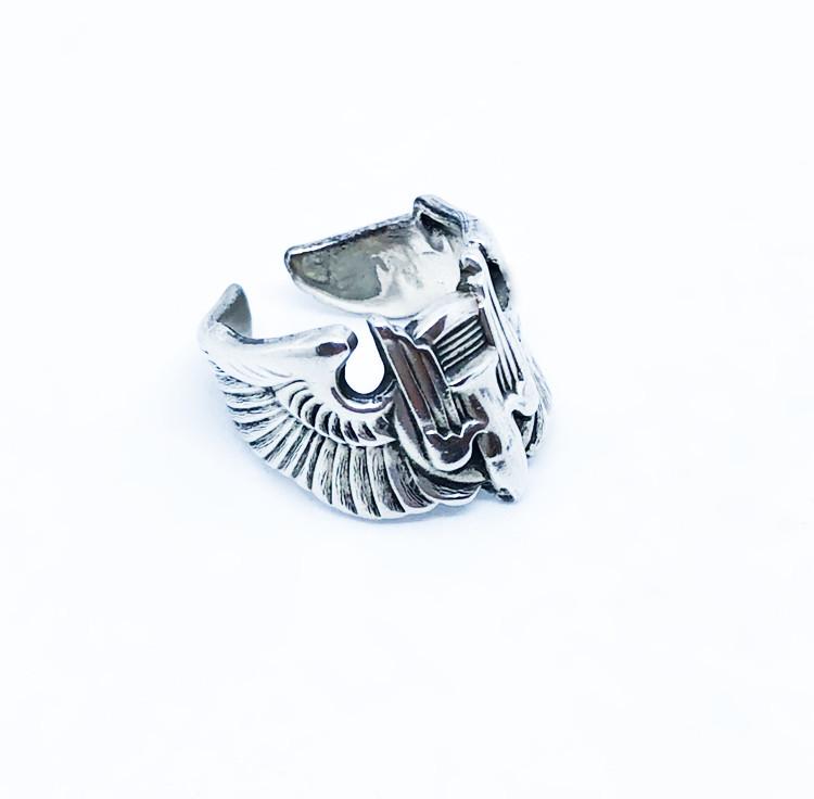 アメリカ空軍のバッジから製作したリング