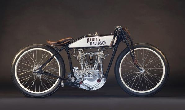 1920年代のヴィンテージハーレーダビッドソン