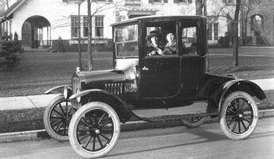 大量生産されたフォードのTモデル