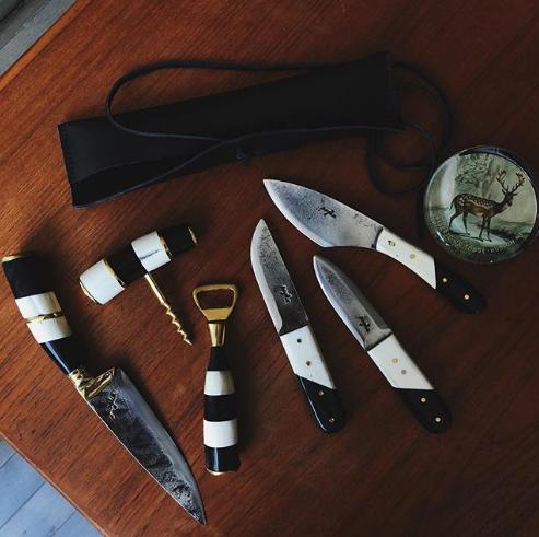 Pogliaの美しいヴィンテージナイフ