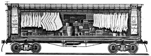 当時の鉄道の冷蔵車両