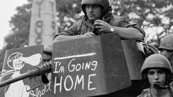 国内から不満が噴出したベトナム戦争