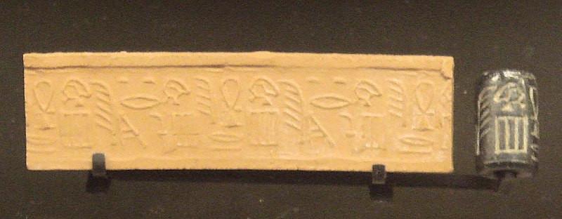 古代エジプトの円筒印章
