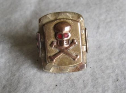 真鍮製のメキシカンリング