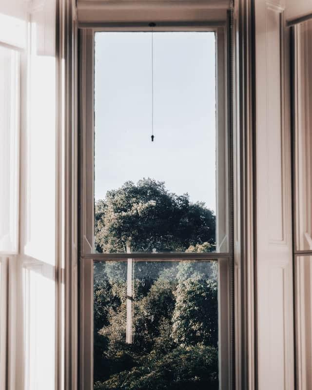 ブルックリンのサッシ窓