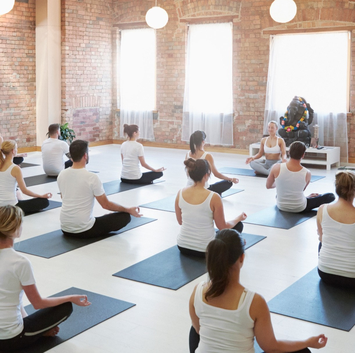 Gentle Yoga - class (Patcham Hall)
