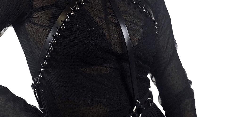 BLACKPEARL Harness - Cuir Noir